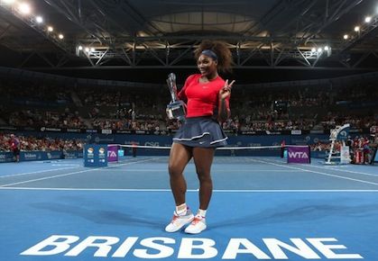 Serena Williams Brisbane