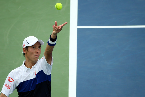 Nishikori Avenges US Open Loss to Cilic in D.C. Semifinal