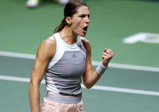 Petkovic Wins Antwerp Title in Walkover