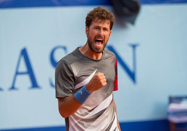Haase Hot and into Gstaad Semis