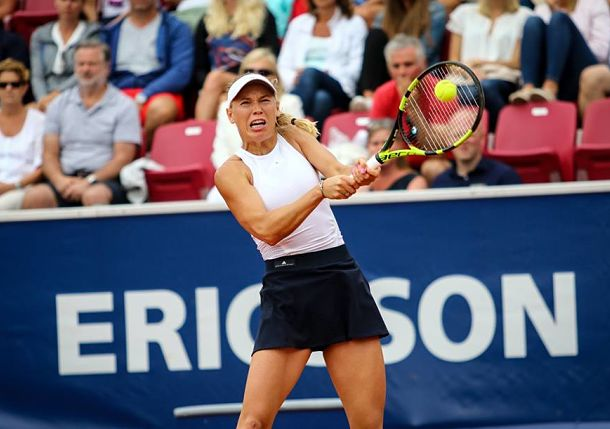 First to Hit 40 Wins, Wozniacki into Bastad Quarterfinal