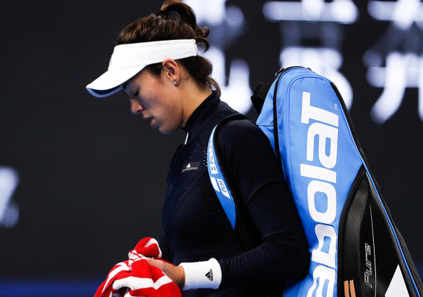 Muguruza, Stephens Fall In Beijing