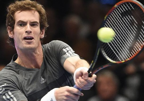Murray Nudges Past Ferrer in Race to London with Vienna Triumph