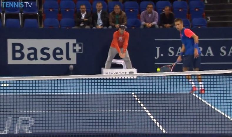 17-Year-Old Coric Notches First Top 20 Win in Basel