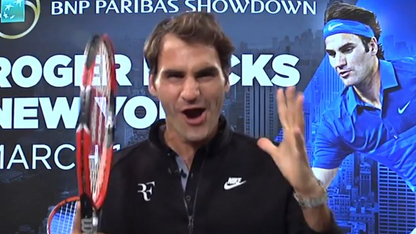 Video: Federer Will Face Dimitrov at Madison Square Garden in March