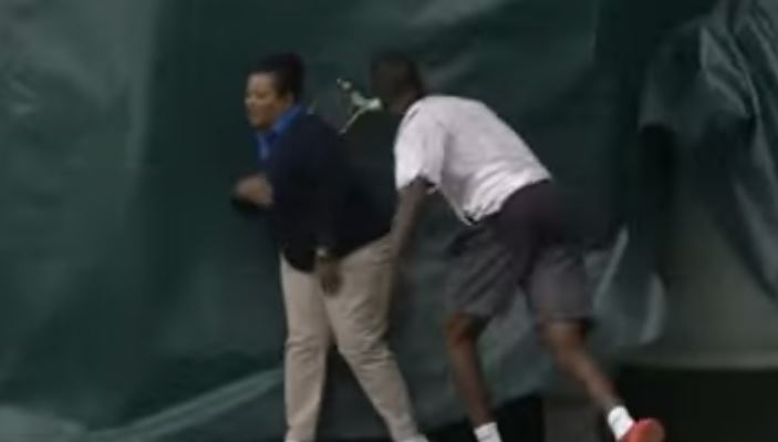 Video: Darian King Disqualified from Charlottesville Challenger after Bizarre Racquet-Throwing Incident