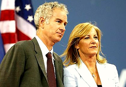 John McEnroe & Chris Evert