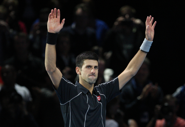 Djokovic Sets World Tour Final Clash with Nadal