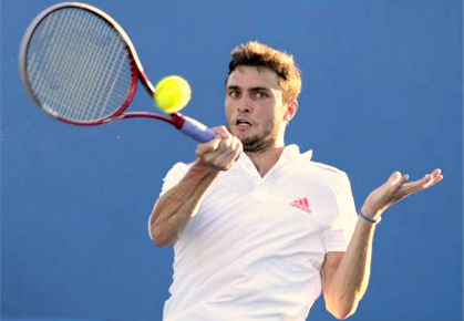Gilles Simon - 2012 Bucharest
