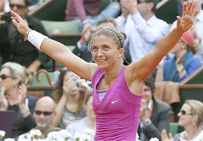Sara Errani French Open