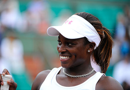 Sloane Stephens is making strides at the 2012 US Open