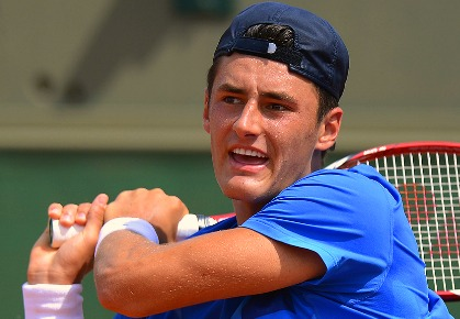 Bernard Tomic - 2012 French Open