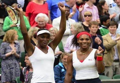 Williams Sisters Olympics 2012