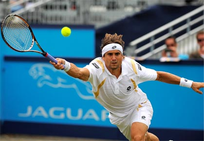 David Ferrer - UNICEF Open 2012
