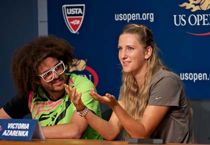 "Redfoo Opens Up About Azarenka ""Heartbreak"""