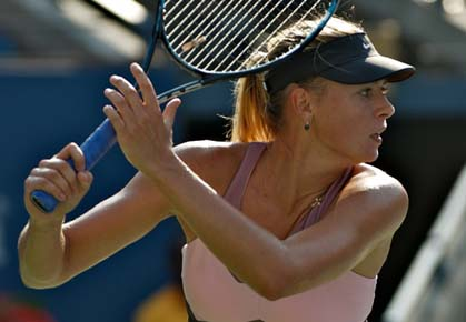 Maria Sharapova loses in the 2012 U.S. Open semifinals against Victoria Azarenka