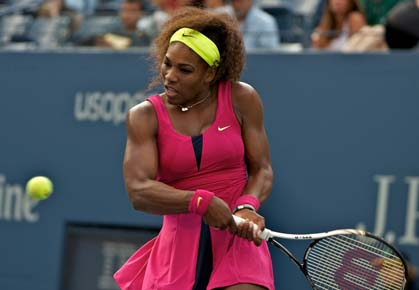 Serena Williams US Open 2012 second round