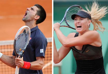 Novak Djokovic - Maria Sharapova - 2012 Wimbledon Top Seeds