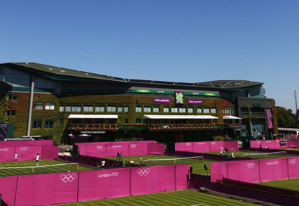 London Olympics at Wimbledon