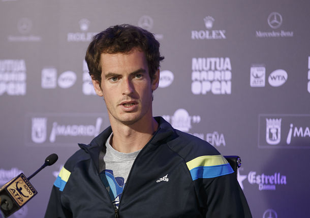 Andy Murray Madrid Open
