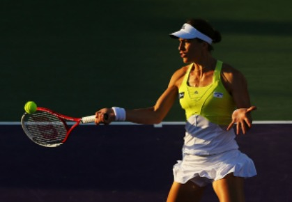 Andrea Petkovic Sony Open 2013