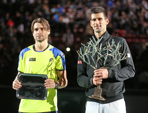 Fall Flourish: Djokovic Wins Paris Masters Over Ferrer