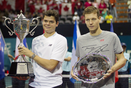 Raonic Bests Berdych in Bangkok Finals