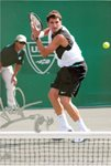 Amer Delic signature- 2007 Clay Court - Houston, Texas