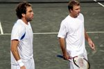 Justin Gimelstob and Ashley Fisher, 2007 Clay Court, Houston, Texas