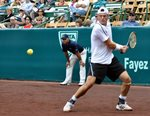 Evgeny Korolev prepare, 2009 Clay Court