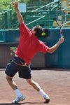 Guillermo Garcia-Lopez serve- 2009 Clay Court - Houston, Texas