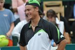Lleyton Hewitt smile - 2009 Clay Court Champion - Houston, Texas