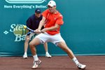 Wayne Odesnik backhand - 2009 Clay Court - Houston, Texas