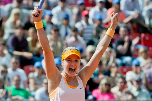 Bouchard, Puig Each Claim Maiden WTA Titles