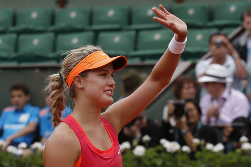 Bouchard Cruises Into French Open Quarters Meeting Versus Suarez Navarro