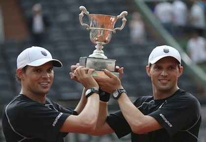 Ten Years Later, Bryan Brothers Grab Second French Open Title