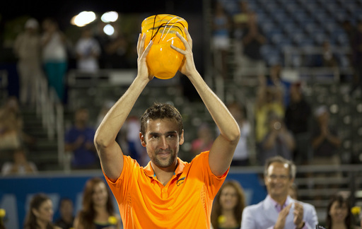 Cilic Claims Delray Beach Title Over Anderson in Tight Final