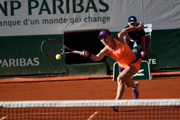 Simona Halep Enters First Grand Slam Final at French Open