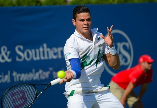 Milos Raonic on Serving, Chicken Wings and Hair Product