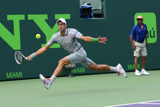Video: Djokovic Plays Dazzling Defense on Championship Point Against Nadal in Miami