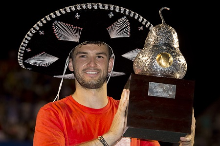 Dimitrov Wins Acapulco Title in Thriller Over Anderson