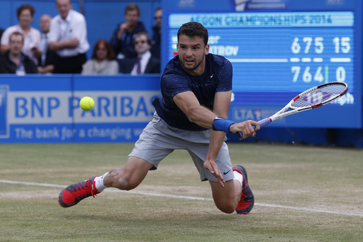 Dimitrov Wins Queen's Club Over Lopez in Dramatic Final
