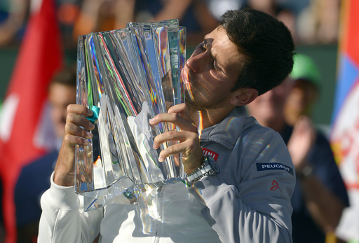 Djokovic Finds a Way Against Federer to Win Third Indian Wells Title