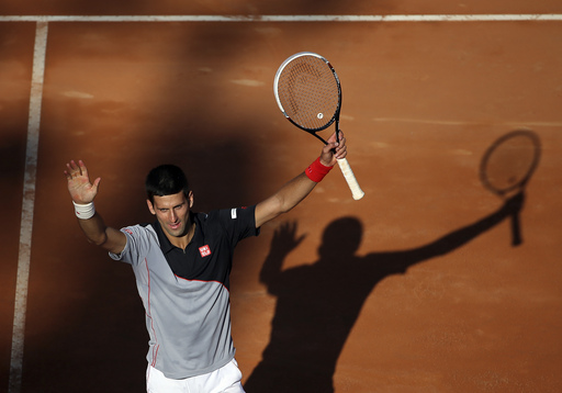 Djokovic Returns to Rome Final Over Raonic
