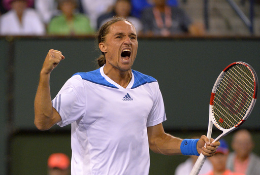 Dolgopolov Dethrones Defending Champion Nadal at Indian Wells