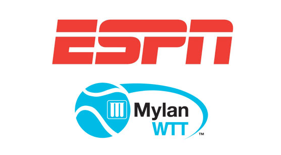 Mylan World Team Tennis and ESPN Announce Deal