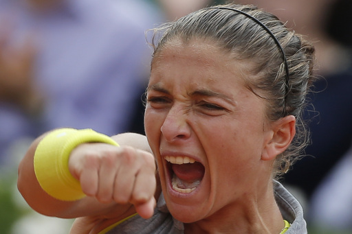 Errani Jousts Jankovic Out of French Open