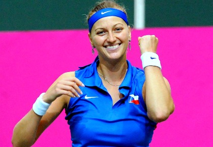 Petra Kvitova - 2012 Fed Cup Semi-Finals