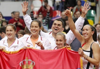 Team Serbia - 2012 Fed Cup Semi-Finals