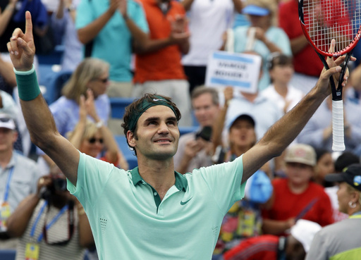 Federer Wins Sixth Cincinnati Title Over Ferrer in Three Sets